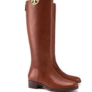 Tory Burch Sidney Tall Riding Boots NEW